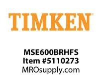 TIMKEN MSE600BRHFS Split CRB Housed Unit Assembly
