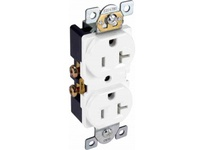 Orbit CR20-I 20A COMMER. DUPLEX RECEPTACLE S/G IVORY