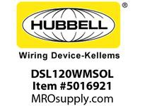 HBL_WDK DSL120WMSOL SWITCHDECOSP20A 120/277VWHSWL