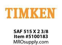 TIMKEN SAF 515 X 2 3/8 SRB Pillow Block Housing Only