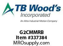 TBWOODS G2CMMRB 2CMMX1/2 RB GEAR HUB
