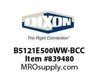 DIXON B5121E500WW-BCC