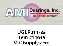 AMI UGLP211-35 2-3/16 WIDE ECCENTRIC COLLAR LOW BA HEIGHT PILLOW BLOCK