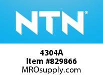 NTN 4304A DOUBLE ROW ANGULAR CONTACT