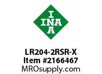 INA LR204-2RSR-X Yoke type track roller