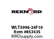 REXNORD WLT5996-24F10 WLT5996-24 F3 T10P WLT5996 24 INCH WIDE MATTOP CHAIN W