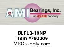 AMI BLFL2-10NP 5/8 NARROW SET SCREW NICKEL 2-BOLT ROW BALL BEARING