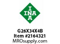 INA G26X34X4B Seal single lip