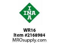 INA WR16 Snap ring shaft