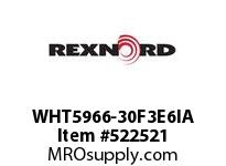 REXNORD WHT5966-30F3E6IA WHT5966-30 F3 T6P N.75 170779