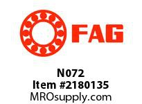 FAG N072 PILLOW BLOCK ACCESSORIES