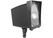 RAB EZHH100QT/PC2 EZ FLOOD 100W MH QT HPF LAMP + 277V PC BRONZE