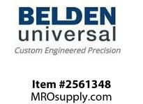 Belden UJ-875 Boot Universal Joint Boot Covers 1.4375in Long 1.5 Wide 0.875inID Key none Setscrew n/a Marerial Nitrile