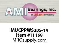 AMI MUCPPWS205-14 7/8 STAINLESS SET SCREW PRESSED STA SETSCRWPRESSED STAINLESS PILLOW BLOCK