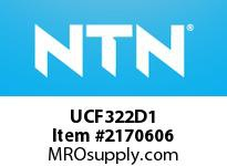 NTN UCF322D1 Mounted Units (Cast Iron)