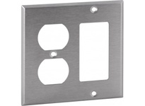 Orbit OS826 2-G STAINLESS COVER - DUPLEX / GFI
