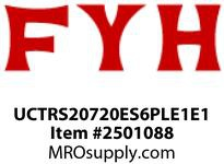 FYH UCTRS20720ES6PLE1E1 1 1/4 PL T-UP NARROW GROOVED BOTH SIDES