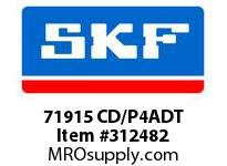 SKF-Bearing 71915 CD/P4ADT