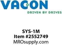 Vacon SYS-1M Fiber optic cable (pair) 1 m Option