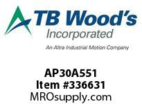 TBWOODS AP30A551 AP30 X 5.51 SPACER ASSY CL A