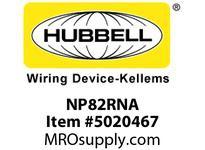 HBL_WDK NP82RNA WALLPLATE 2-G 2) DUP RED