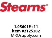 STEARNS 105601200012 BRK-STD. BLACK PAINT 168990
