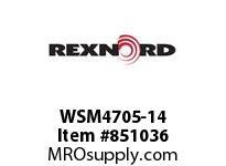 REXNORD WSM4705-14 WSM4705-14 WSM4705 14 INCH WIDE MATTOP CHAIN W