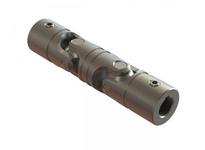 Belden DUJ-HD4000x2000K Double U-Joint 17in Long 4 Wide 2inID Key 1/2x1/4 Setscrew yes Marerial alloy