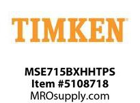 TIMKEN MSE715BXHHTPS Split CRB Housed Unit Assembly