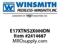 WINSMITH E17XTNS2X000DN E17XTNS 20 LR WORM GEAR REDUCER