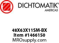 Dichtomatik 48X63X11SM-BX DISCONTINUED