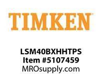 TIMKEN LSM40BXHHTPS Split CRB Housed Unit Assembly