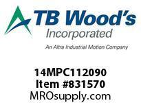 TBWOODS 14MPC112090 14MPC-1120-90 QTPCII BELT
