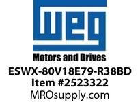WEG ESWX-80V18E79-R38BD XP STRTR N79 30HP@460V 120VCoi Panels