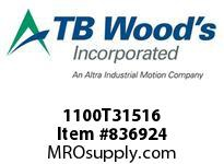 TBWOODS 1100T31516 1100TX3-15/16 G-FLEX HUB