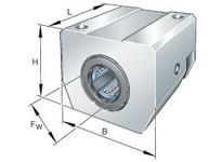 INA KGSNG25PPAS Max? linear aligning bearing unit