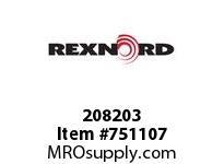 REXNORD 208203 594553 163.DBZB.CPLG STR SD