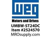 WEG UMBW-ST24DC MCB SHUNT TRIP 1NC/1NO 24VDC Miniature CB
