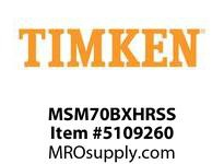TIMKEN MSM70BXHRSS Split CRB Housed Unit Assembly