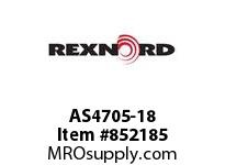 REXNORD AS4705-18 AS4705-18 AS4705 18 INCH WIDE MATTOP CHAIN WI