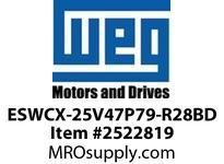 WEG ESWCX-25V47P79-R28BD XP FVNR 5HP/460 N79 460V Panels