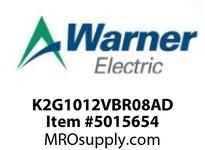 Warner Electric K2G1012VBR08AD WL001BB045JBAA0010 K2G10-12V-BR-08AD