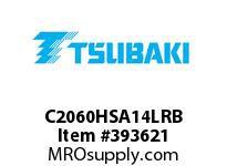 US Tsubaki C2060HSA14LRB C2060H RIV 4L/SA-1