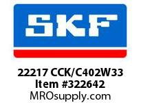 SKF-Bearing 22217 CCK/C402W33