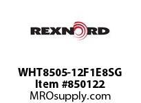 REXNORD WHT8505-12F1E8SG WHT8505-12 F1 T8P S1R