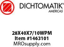 Dichtomatik 28X40X7/10WPM WIPER