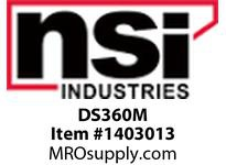 NSI DS360M DRAINSAFE- DRAIN COVER WITH UNIVERSAL SCREW KIT