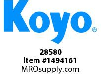 Koyo Bearing 28580 TAPERED ROLLER BEARING