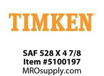 TIMKEN SAF 528 X 4 7/8 SRB Pillow Block Housing Only