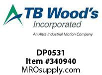 TBWOODS DP0531 DP0531 6S T-SF CPLG